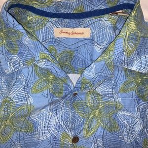 Tommy Bahama Silk Blend Aloha Button Down Shirt